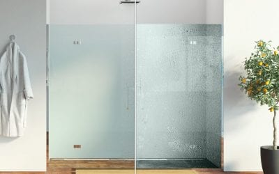 How you can keep your new shower glass nice and clean – with no fuss!